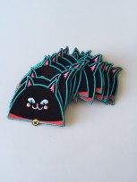 black cat patch 3 by Kodiak Milly on etsy