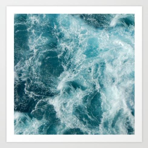 Sea by Vickn on Society6
