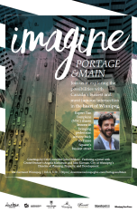 Imagine Portage and Main poster