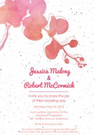Invitation Design by Kristen Lourie co Botanical Paperworks