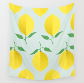 lemon-pattern-by-kodiak-milly-society6-tapestry