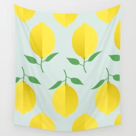 lemon-pattern-by-kodiak-milly-society6-tapestry