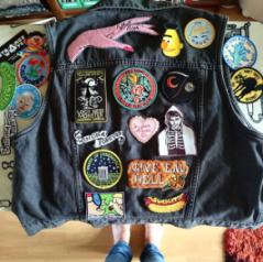 Kodiak Milly patch Photo by Instagram user @therearerulesok