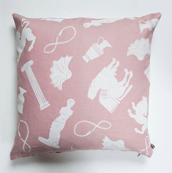 Pink Ancients Pillow Case by Banquet.png