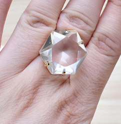 The Royals quartz coctail ring 2