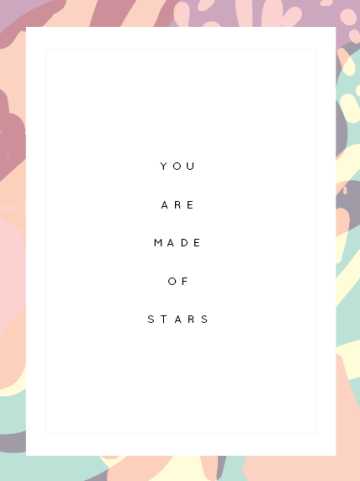 Kodiak Milly Inspirational quote print