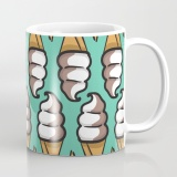 swirl-cone-ice-cream-illustration-with-teal-background-mugs