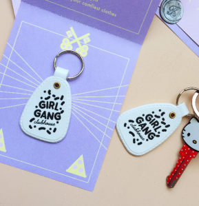 Girl Gang Clubhouse keychain by Kodiak Milly