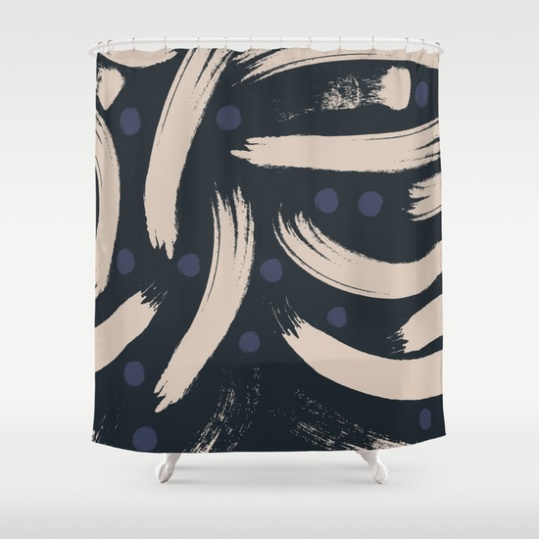 paint-strokes-pattern-navy-blueberry-and-light-sand-colours-shower-curtains