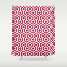The-Shining-Overlook-Hotel-carpet-pattern-geometric-pattern-colours-inspired-by-hotel-movie-shower-curtains
