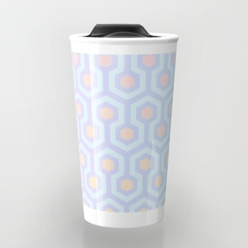 The-Shining-Overlook-Hotel-carpet-pattern-magical-unicorn-oil-spill-pastel-coloured-geometric-pattern-travel-mugs