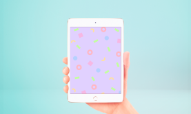 Neon-lunch-1990s-retro-pattern-shapes-pastels-kodiak-milly-ipad-screen-wallpaper