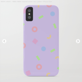 Neon-lunch-1990s-retro-pattern-shapes-pastels-kodiak-milly-phonecase