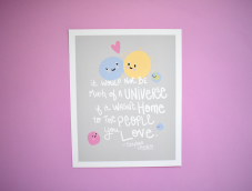 Universe-Stephen-Hawking-Quote-poster-print-by-kodiak-milly