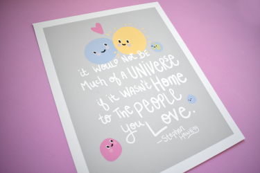 Universe-Stephen-Hawking-Quote-poster-print-by-kodiak-milly2