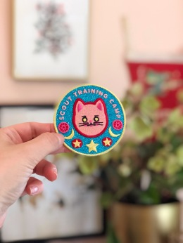 Sailor-Moon-sparkly-training-iron-on-patch-cat-by-kodiak-milly3