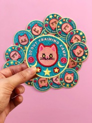 Sailor-Moon-sparkly-training-iron-on-patch-cat-by-kodiak-milly4