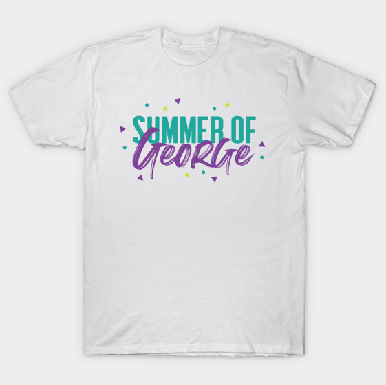 Summer of George George Costanza design tshirt by Kodiak Milly