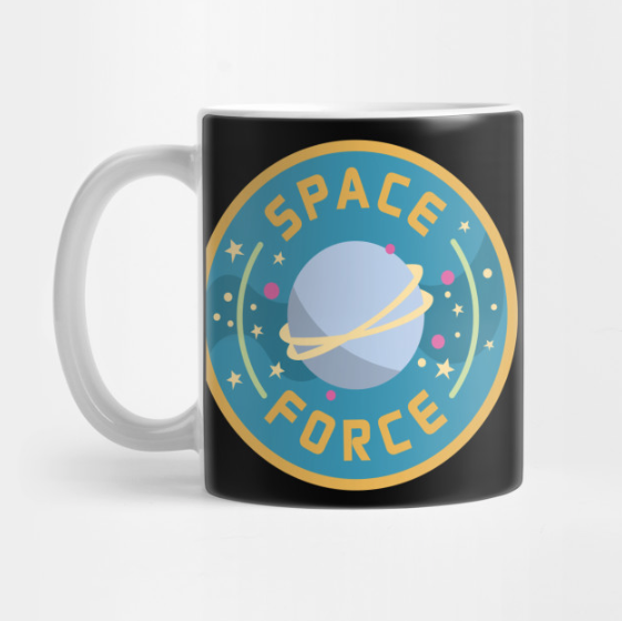 Space Force Logo mug by Kodiak Milly