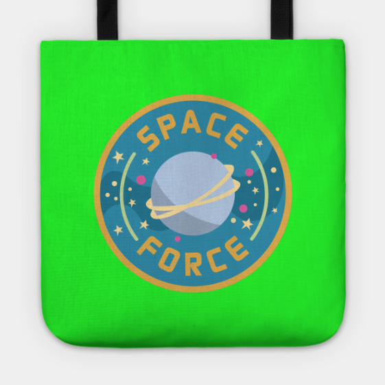 Space Force Logo tote bag by Kodiak Milly
