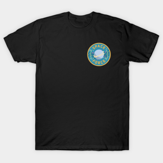 Space Force Logo tshirt by Kodiak Milly