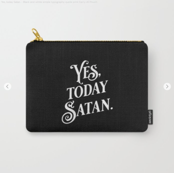 Yes Today Satan black by Kodiak Milly