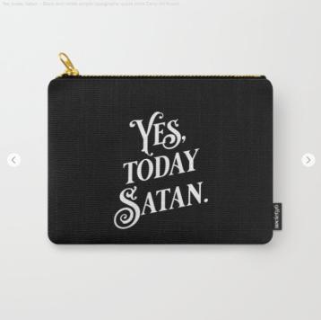 Yes Today Satan black by Kodiak Milly