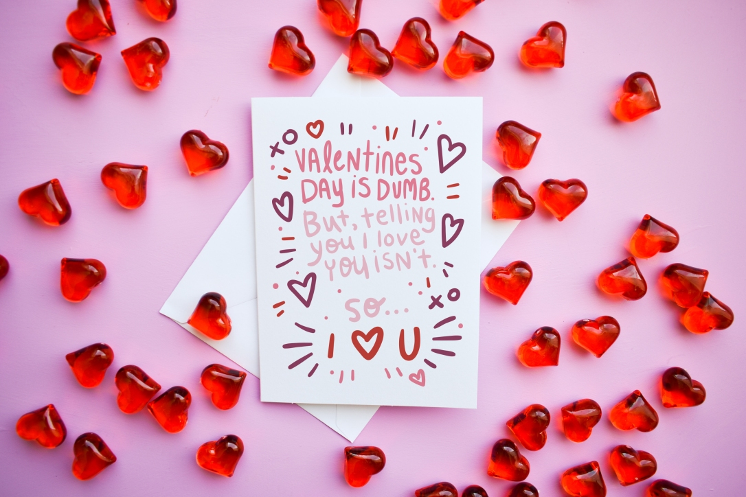 Funny valentine's day card by Kodiak Milly on Etsy