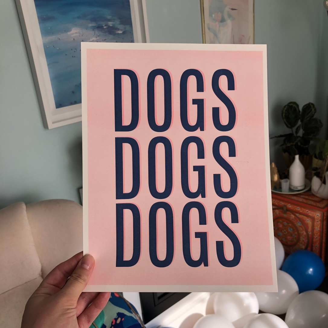 Dogs risograph print by Kodiak Milly4.JPG